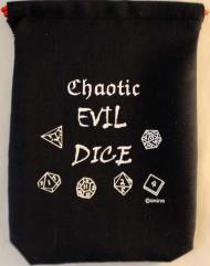 """Black Evil Dice (5"""" x 7"""")"""