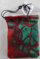 "Red & Green Peace Symbol (5""x7"")"