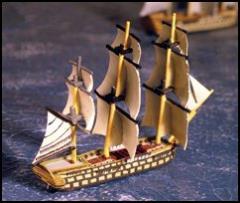 74 Gun Ship-of-the-Line - L'Achille
