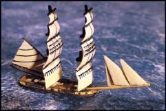 18 Gun Brig (Full Sails)