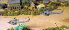 UH 1B Huey Gunship