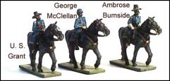 Federal Commanders #1 - Grant, McClellan & Burnside