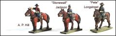 Confederate Commanders #2 - A.P. Hill, Stonewall Jackson & Longstreet
