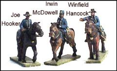 Federal Commanders #2 - Hooker, McDowell & Hancock