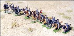 Federal Mounted Cavalry - Charging