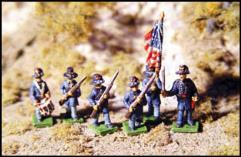 Federal Advancing Iron Brigade