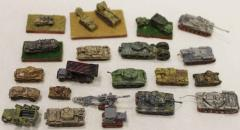 Assorted WWII Vehicle Collection