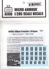WWII Allied Aircraft Invasion Stripes