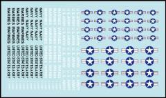 Nam Era US Aircraft Markings