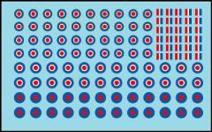 WWII RAF Aircraft Roundels & Markings