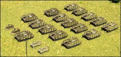 German Panzer IV H Company