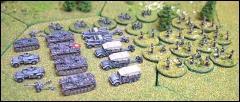 German Panzer Kampfgruppe 1941