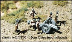 Individual Italian Artillery Crewmen - Summer