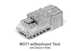 M577 w/Deployed Tent