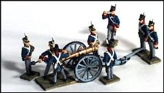 9 Pound Royal Artillery Section - Foot