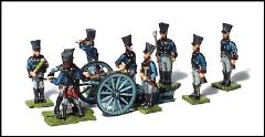 6 Pound Artillery Section - Foot