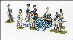 9 Pound Royal Artillery Section - Horse