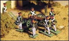 Heavy Footman Artillery - 12 lbs. Guns