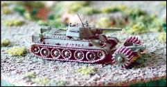 T-34 m.1943 w/PT-3 Mineroller