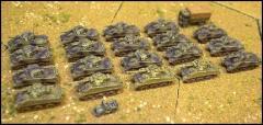 British Sherman Squadron 1944