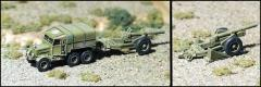 "7.2"" Gun/Howitzer w/Scammell Prime Mover"
