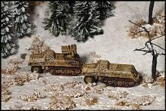 15cm Panzerwerfer 42 and Munitionskraftwagen fur N