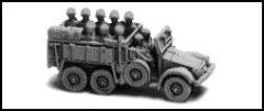 Seated Infantry - Truck Passengers