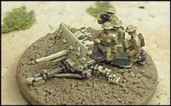 2 Pounder Anti-Tank Guns w/Crews & Prime Movers