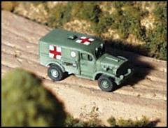 WC-54 Dodge Ambulance