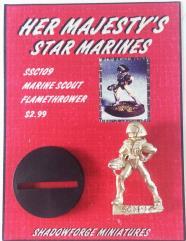 Marine Scout Flamethrower