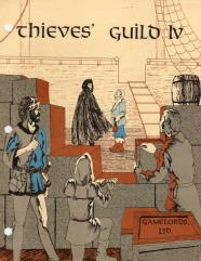 Thieves' Guild #4 (1st Printing)
