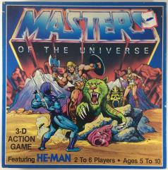 He-Man and the Masters of the Universe 3-D Action Game