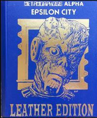 Metamorphosis Alpha - Epsilon City (Leather Edition)