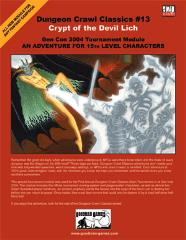 Crypt of the Devil Lich (1st Printing)