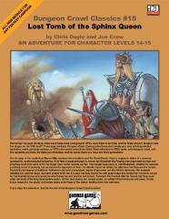 Lost Tomb of the Sphinx Queen (1st Printing)
