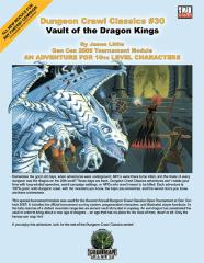 Vault of the Dragon Kings (Gen Con 2005 Tournament Module)