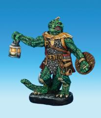 Lizardman Cleric