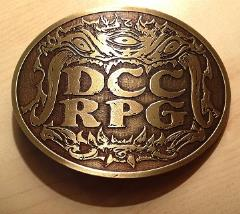 DCC RPG Belt Buckle - Three-Eyed Demon (2013 World Tour Edition)
