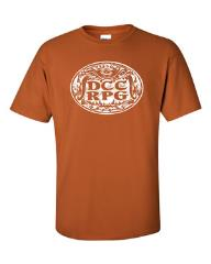 DCC RPG Orange T-Shirt (XXL) (2015 North Texas RPG Con Edition)