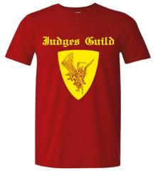 Judges Guild Red T-Shirt (XL) (2015 North Texas RPG Con Edition)