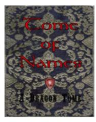 Tome of Names