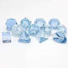 Full Poly Set Blue Moonstone (Ice) (12)