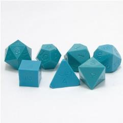 Poly Set Turquoise Blue (7)