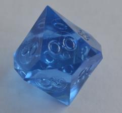 d10 Pentaider - Sapphire (Plain)