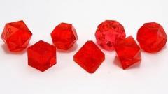 Poly Set - Ruby (7) (Plain)