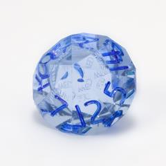 d14 Blue Moonstone w/Blue