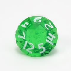 d14 Emerald w/White