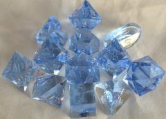 Full Poly Set Translucent Ice (12) (Plain)