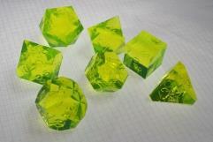 Poly Set - Laser Yellow (7) (Plain)
