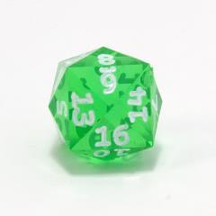 d24 Emerald w/White